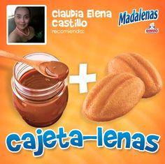 Claudia Elena Castillo Mercado nos cuenta que este ingrediente acompaña el lunch de sus hijos: ¡cajeta!   ¡Cuéntanos tus recetas!
