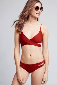 Shop the L Space Chloe Wrap Swim Top and more Anthropologie at Anthropologie today. Read customer reviews, discover product details and more.