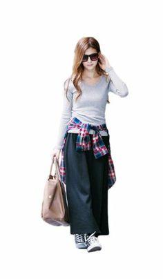 Amazon.co.jp: ロングスカート マキシスカート 裏起毛: 服&ファッション小物