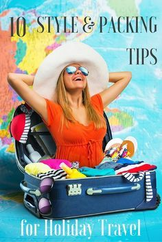 10 Style and Packing Tips for Holiday Travels