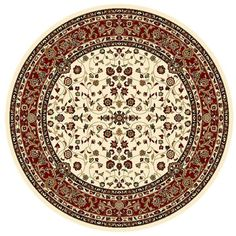 CHARISMA PURE TRADITIONAL ROUND RUGS