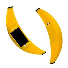The Banana iPhone Case, For Serious Conversations. Obviously we both need one @Becca Connelly ;)