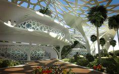 O escritório de arquitetura Sanzpont Arquitectura, projetou o Palácio da…