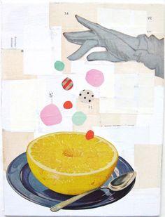 paper magic - original collage by Dawn Stetzel on Etsy