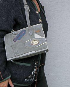 Small German Lederhosen Bag Bavarian Purse with by P8Accessories, €119.00