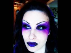Gothic Fairy Makeup Ideas | Make Up Dead Fairy - Evil/Dead Fairy Make Up/ Face Paint Ideas ...