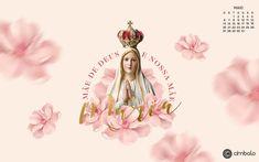 Maio é mês das mães e nosso wallpaper não podia deixar de homenagear nossa mãezinha do céu: Nossa Senhora! 💓 Baixe o seu em: bit.ly/wallpaperdemaio    #cimbalovers #calendário #wallpaper #maio #mêsdasmães #mêsdemaria #nossasenhora