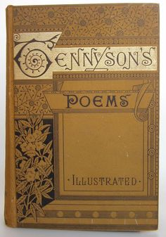 The Poetical Works of Alfred Tennyson Chicago: Danks & Co., Publishers, 1892, illustrated| Beautiful Antique Books
