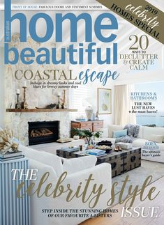 A sneak peek at the stunning January issue of Home Beautiful house beautiful magazine - House Beautiful Luxury Home Decor, Cheap Home Decor, Beautiful Cover, House Beautiful, Utah Home Builders, Rustic Closet, Rustic Lake Houses, Master Bedroom Closet, Home Inc