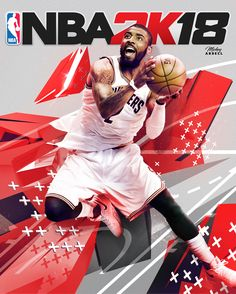 Kyrie Irving NBA2k cover rejiggers NBA Art. #wmcskills