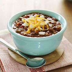 "Evelyn's Texas Chili from ""Moms' Best Recipes"""