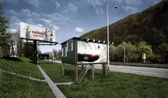 Billboards Turned into Houses for Homelessness