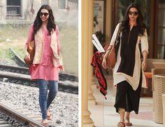 Get Deepika PIKU movie look #deepika, #piku, #pikulook