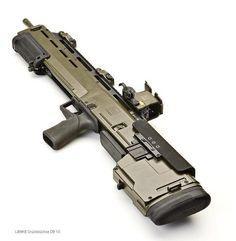 Weapon design.