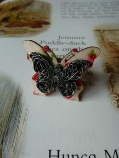 Butterfly ring £5.00