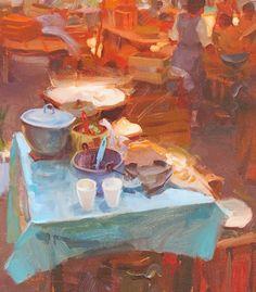 Kim English, Blue Spoon More Kim English, Dark Interiors, Colorful Interiors, Nocturne, Interior Paint Colors, Interior Painting, Gray Interior, Revere Pewter, Classic Paintings