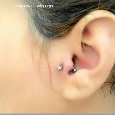 Piercing tragus