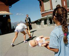 Martin Parr - Switzerland. Kleine Scheidegg. 1990.