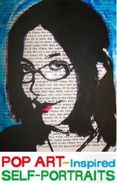 Great project!!!   Pop Art-inspired Self-Portraits | Arts and Activities April 2011 issue