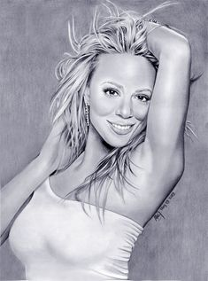 Mariah Carey ART Drawing by riefra on DeviantArt