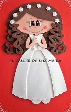 93e964da18a EL TALLER DE LUZ MARIA  IMAN DE GOMA EVA PARA DETALLES DE COMUNION