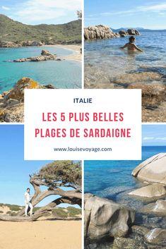 Une petite sélection des plus belles plages de Sardaigne en Italie. #mer #plages #italie #baignade #été #roadtrip #nature #outdoor #top #best #europe One Day I Will, Voyage Europe, Nature, Outdoor, French, Photos, Beauty, Outdoors, Naturaleza