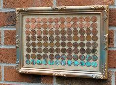 Hast Du Geld übrig?? Dann Sieh Dir Diese 12 Tollen Kreationen Aus Cent- Oder Penny-Stücken An!