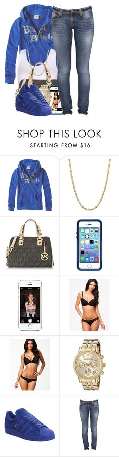"""121915"" by polyvoreitems5 ❤ liked on Polyvore featuring PacSun, Michael Kors, OtterBox, Wonderland, adidas and Nudie Jeans Co."