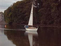 Farewell our lovely. Veryan sailing away with her new owner Springboard, Sail Away, Small Boats, New Adventures, Sailing, Novels, Star, Candle, Stars
