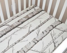 Woodland mattress cover for infant, Rustic nursery decor for kids, Gender neutral fitted crib sheet for baby, Adjustable bedding for newborn by LoveLilaAnn on Etsy https://www.etsy.com/listing/263887500/woodland-mattress-cover-for-infant