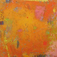 "Jeannie Sellmer, Tangerine 2, Oil on panel, 16"" x 16"""