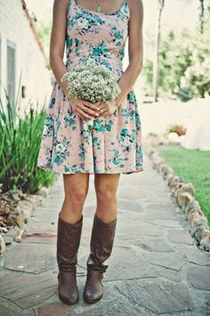 Floral print dress. Dorothy Perkins. Photography by capturedbyaimee.com,