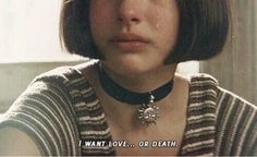 leon the professional Saw Quotes, Film Quotes, Natalie Portman, Mathilda Lando, I Want Love, Grunge Quotes, Trend Fashion, Quote Aesthetic, 70s Aesthetic