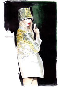 Modeconnect.com - Fashion Illustration by Lena Ker