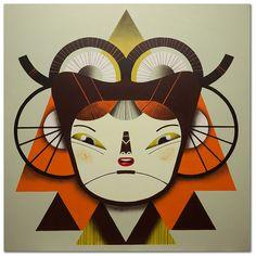 Máscara #02, via Flickr.