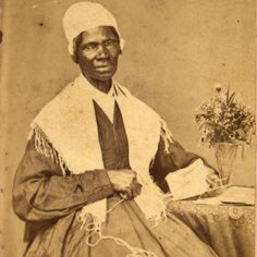 """Born in New York circa 1797, Sojourner Truth was the self-given name, from 1843 onward, of Isabella Baumfree, an African-American abolitionist and women's rights activist. Truth was born into slavery in Swartekill, New York, but escaped with her infant daughter to freedom in 1826. Her best-known speech on racial inequalities, """"Ain't I a Woman?"""", was delivered extemporaneously in 1851 at the Ohio Women's Rights Convention. She was commemorated on a U.S. postage stamp on February 4, 1986."""