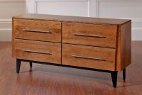 Green Bay Road Dresser with straight bar pulls #JohnStraussFurniture