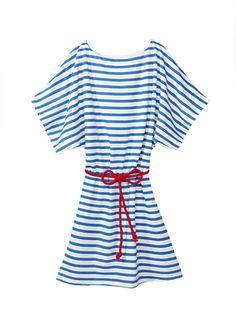 CABANA LIFE Boat Neck Dress