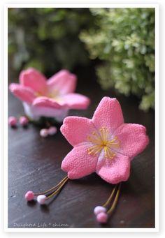 Chirimen,Kimono fabric