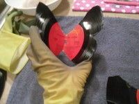 vinyl record butterfly