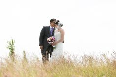 bride and groom photography in tall grass, JayLee Photography