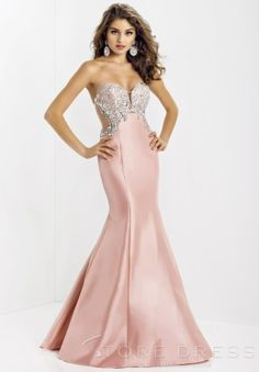 Fashionable Sheath / Column Sweetheart Floor-length Beading Prom Dress 2014 New Style at Storedress.com