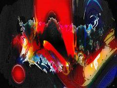 Passionate Fire - Digital Art Diana Coatu