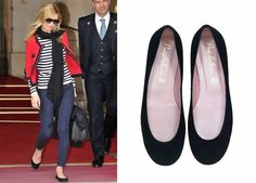 Have you seen Kate Moss with our black Pretty Ballerinas? So confortable!