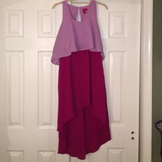 Gorgeous High-Low! Beautiful high low! In perfect condition! Just needs to be ironed! Forever 21 Dresses High Low