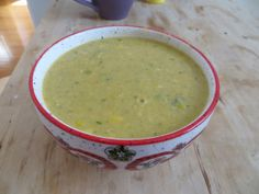 Corn chowder with poblano peppers! So good!