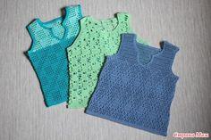 здравствуйте, девочки  хвастаюсь на этот раз маечками для моего сына… Crochet For Boys, Crochet Baby, Z Photo, Baby Boy, Kids, Clothes, Dresses, Fashion, Crochet Shirt