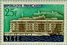 Sello: Sete (Francia) (Views of the town) Yt:FR 1155,Mi:FR 1191,Sn:FR 877,AFA:FR 1200