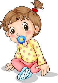 Buy Toddler with a Pacifier by interactimages on GraphicRiver. Illustration of a toddler with a pacifier on a white background Baby Clip Art, Views Album, Princess Peach, Smurfs, Toddler Girl, Baby Boy, Doodles, Animation, Illustration