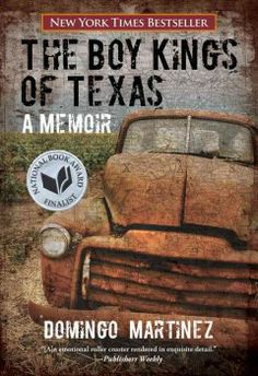The boy kings of Texas : a memoir by Domingo Martinez.Click the cover image to check out or request the biographies and memoirs kindle.